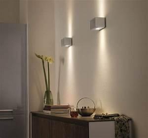 Wandleuchte Led Dimmbar : power led wandleuchte wandlampe energiespar lampe leuchte philips ledino innen ebay ~ Eleganceandgraceweddings.com Haus und Dekorationen