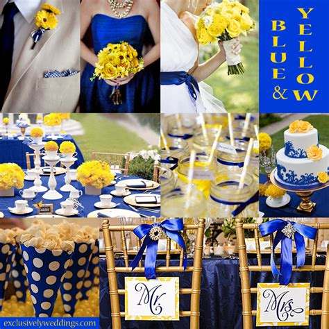 blue wedding color five combinations exclusively weddings