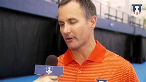 Men's Tennis Head Coach Brad Dancer Post-Match Interview 1 ...