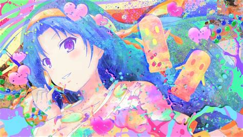 Colorful Anime Wallpaper - anime colorful invaders of rokujouma kiriha kurano hd