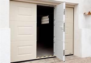 elegant porte de garage sectionnelle avec porte pvc With porte de garage sectionnelle avec porte entree pvc renovation