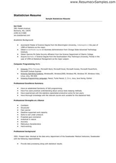 Senior Statistician Resume by High School Senior Resume For College Application