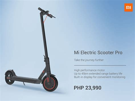 mi electric scooter xiaomi mi electric scooter pro priced in ph
