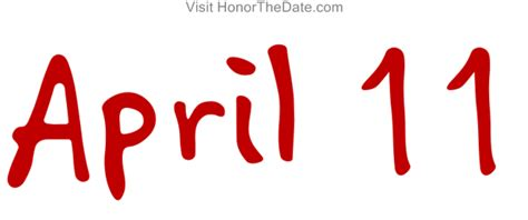 the april 11th t shirt tshirts for a year