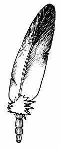 Eagle Feather Drawing Clipart - Clipart Suggest