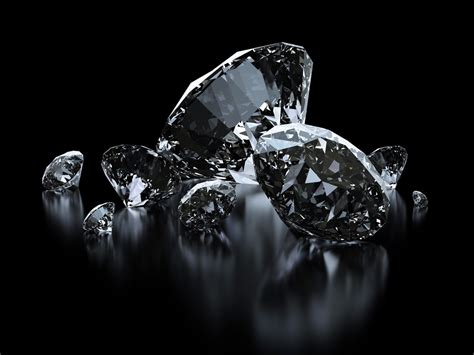 Black Diamonds vs. White Diamonds - Sam's Antique Blog