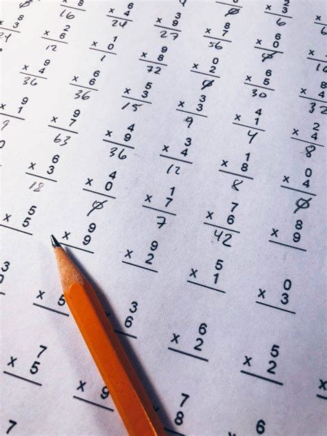 multiplication worksheets examples   examples