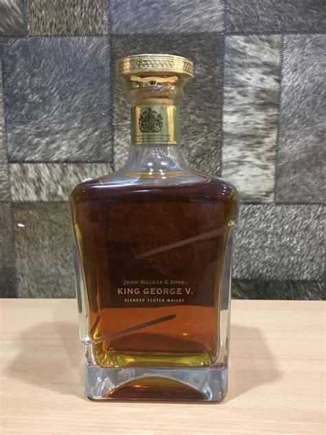 johnnie walker king george  blended scotch whisky cl