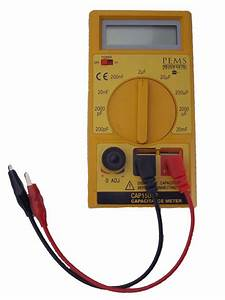 Digital Capacitor Tester For Electric Motor Capacitors
