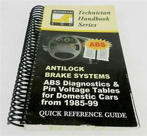 Abs Brake Systems Diagnostic Domestic Cars From 1985