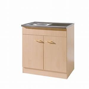 Arbeitsplatte Küche 60 Cm : k chen sp lenschrank 2 t rig breite 80 cm tiefe 60 cm buche k che sp lenschr nke ~ Indierocktalk.com Haus und Dekorationen