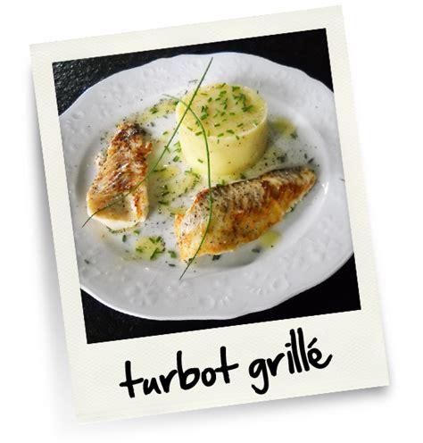 cuisiner un turbot turbot grille christiane cuisine