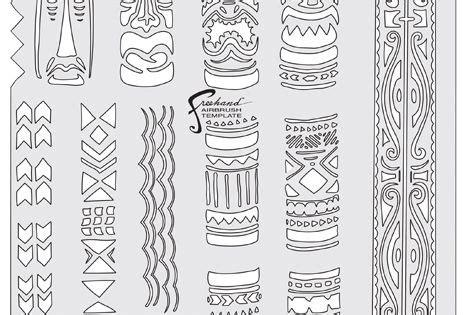Tiki Totem Templates by Tiki Master Totem Tiki Template Stencils Pinterest