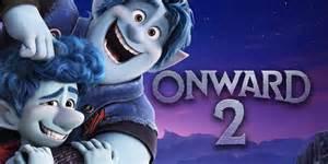onward      sequel  pixars animated film