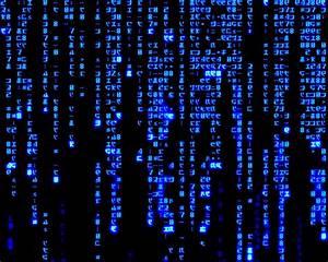 [43+] Blue Matrix Code Wallpaper Live on WallpaperSafari