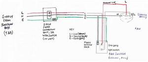 Extractor Fan And Switch Circuit Wiring