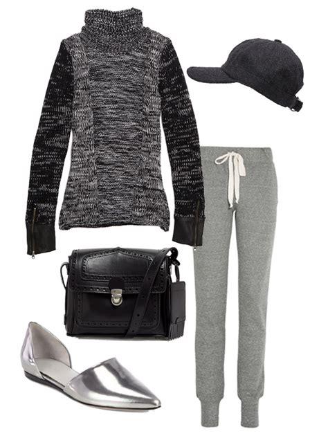 Cute Sweatpants Outfit For Women | POPSUGAR Fashion