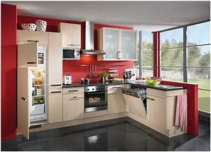 beauteous european style kitchen designs With kitchen colors with white cabinets with red and cream wall art