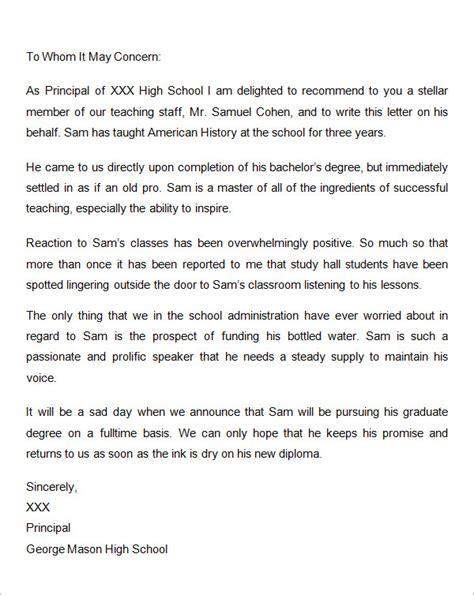 letters  recommendation  graduate school