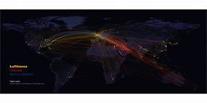 Flights at Night: Mapping airline routes on NASA's night ...