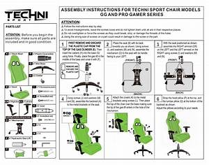 Assembly Instructions  U2013 Techni Sport
