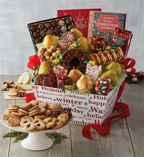 latest new gift baskets for christmas supreme gift basket harry david
