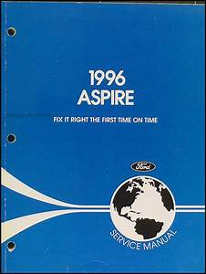 1996 Probe Aspire Escort Engine Emissions Diagnosis Manual