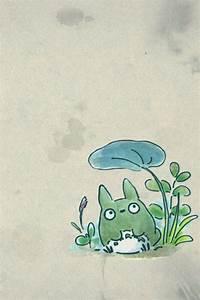 Totoro iphone wallpaper | Studio Ghibli | Pinterest | The ...
