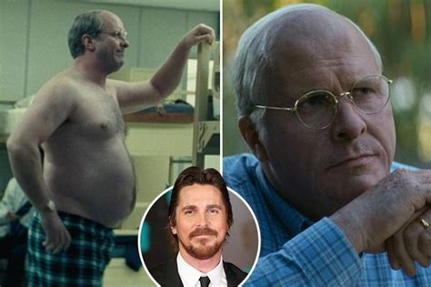 christian bale  totally unrecognisable  gaining