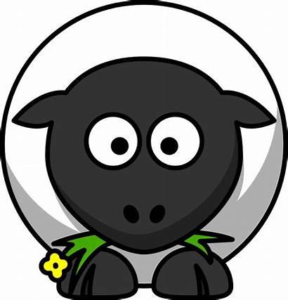 Sheep Cartoon Clip Lemmling Onlinelabels Animals Ewe