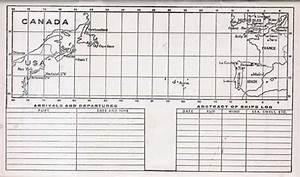Ss Maasdam Passenger List 15 July 1953 Gg Archives