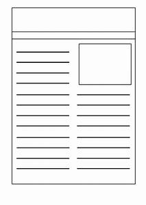 Newspaper template by kristopherc teaching resources tes for Free printable newspaper template for students