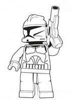 dla chlopcow kolorowanki lego star wars clone wars numer