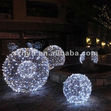 large led christmas ball  outdoor light decorations