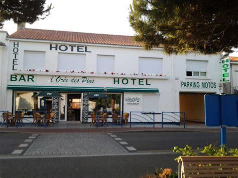 hotel jean de monts hotel l oree des pins h 244 tel