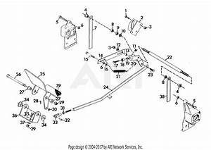 Gravely 45543 20hp  With Hydraulic Lift Parts Diagram For