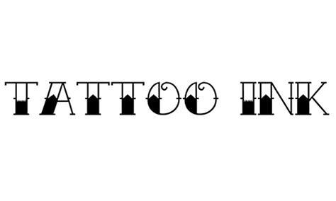 freely downloadable tattoo fonts blueblotscom