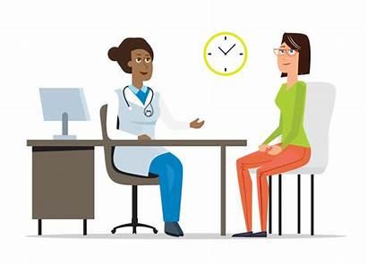 Patient Doctor Animation Talking Visit Clipart Blood