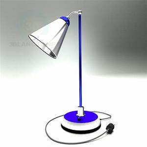 3d model table lamp id 9694 With table lamp 3d archive
