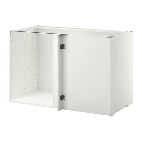 Meuble Angle Ikea by Metod Structure 233 L 233 Ment Bas D Angle Blanc Ikea