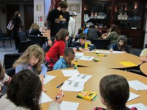 Students Learning at MLK Day Program, January 2012 ...