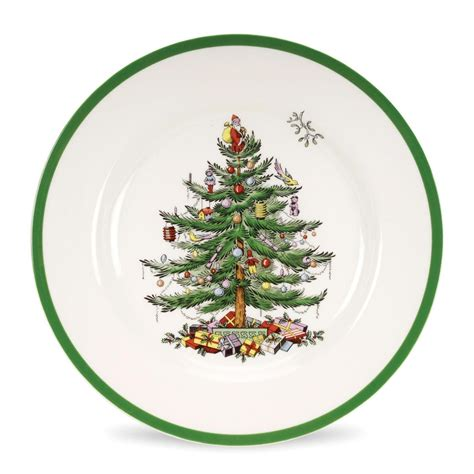 spode christmas tree set of 4 dinner plates spode usa