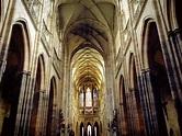 St. Vitus Cathedral, Prague Castle, Czech Republic ...