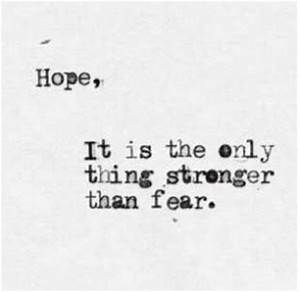 Quotes About Depression and Hope