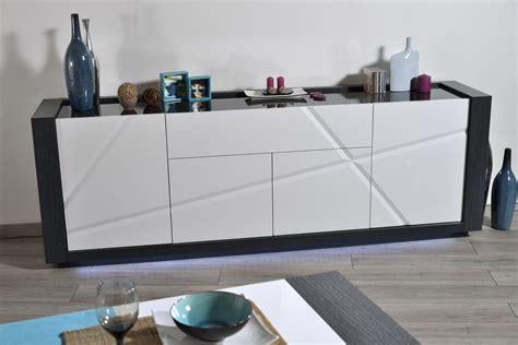 four avec porte tiroir buffet bahut contemporain 4 portes 1 tiroir avec 233 clairage gris blanc laqu 233 medusine buffet
