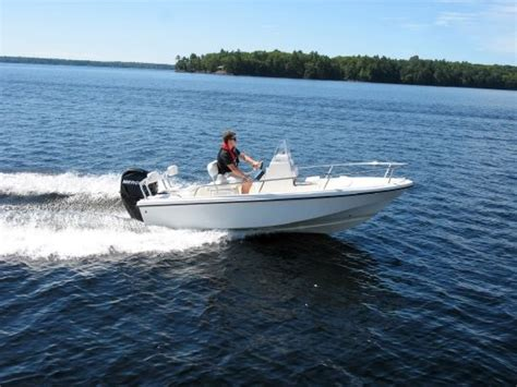 Edgewater Boats Reputation by 2012 Edgewater 158 Cc Tested Reviewed On Boattest Ca