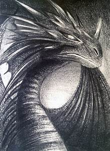 Smaug Drawing by Hayley Knowles