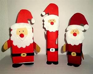 Basteln Kinder Weihnachten : nikolaus mit sack aus klorolle weihnachten basteln meine enkel und ich ~ Frokenaadalensverden.com Haus und Dekorationen