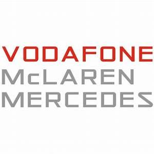 Vodafone Mclaren Mercedes Logo Vector (CDR) Download For Free