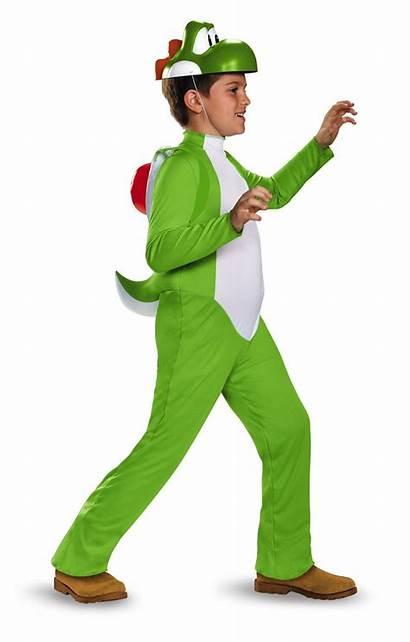 Yoshi Boys Mario Costume Costumes Deluxe Super